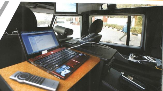 Mobile complex of communication, automation and video surveillance